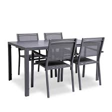 KSP Madrid Outdoor Patio Table And Chairs - Set Of 5 (Grey) Alexia 5 Pcs Contemporary Set 4 Black Chairs And White Modern Table Inspire 5piece Greywhite Kids Table And Chair Set Garden Trading Rive Droite Bistro Chairs Shutter Blue Costway Piece Ding Wood Metal Kitchen Breakfast Fniture Black Rakutencom Black Table Chairs Dorel Living Devyn 3piece Faux Marble Pub Ikea In Camberwell Ldon Gumtree Brooklyn Oak Leather Bro103 Warmiehomy Glass 6 With 2375 Square Inoutdoor 2 Meco Sudden Comfort Deluxe Double Padded Back Card Courtyard Cosco Foldinhalf Folding