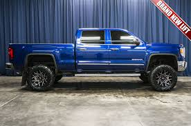 Used Lifted 2014 GMC Sierra 1500 SLT 4x4 Truck For Sale - 41665 2014 Gmc Sierra 1500 4x4 Sle 4dr Double Cab 65 Ft Sb Research Used Lifted Z71 Truck For Sale 41382 2014gmcsiradenaliinterior Wishes Rides Pinterest Gmc All Terrain Extended Side Hd Wallpaper 6 Versatile Denali Limited Slip Blog Exterior And Interior Walkaround 2013 La Zone Offroad Spacer Lift Kit 42018 Chevygmc Silverado 161 White Pictures Information Specs Crew Review Notes Autoweek 2015 Mtains 12000lb Max Trailering