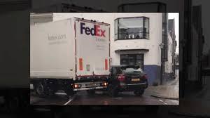 100 Porsche Truck Watch FedEx Damage BadlyParked Cayenne