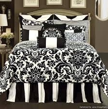 black and white toile bedding full Things for Emma