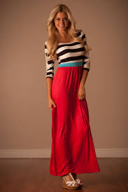coral mint summer maxi dress affordable modest boutique clothes