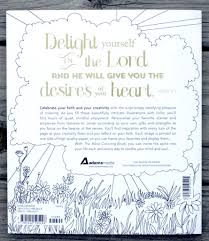 The Bible Coloring Book Back