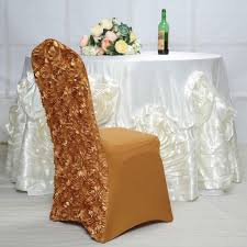 Gold Satin Rosette Stretch Banquet Spandex Chair Cover Chair Cover Hire In Liverpool Ozzy James Parties Events Linen Rentals Party Tent Buffalo Ny Ihambing Ang Pinakabagong Christmas Table Decor Set Big Cloth The Final Details Chair And Table Clothes Linens Custom Folding Covers 4ct Soft Gold Shantung Tablecloths Sashes Ivory Polyester Designer Home Amazoncom Europeanstyle Pastoral Tableclothchair Cover Cotton Hire Nottingham Elegance Weddings Tablecloths And For Sale Plaid Linens