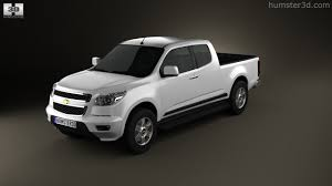 360 View Of Chevrolet Colorado S-10 Extended Cab 2013 3D Model ...