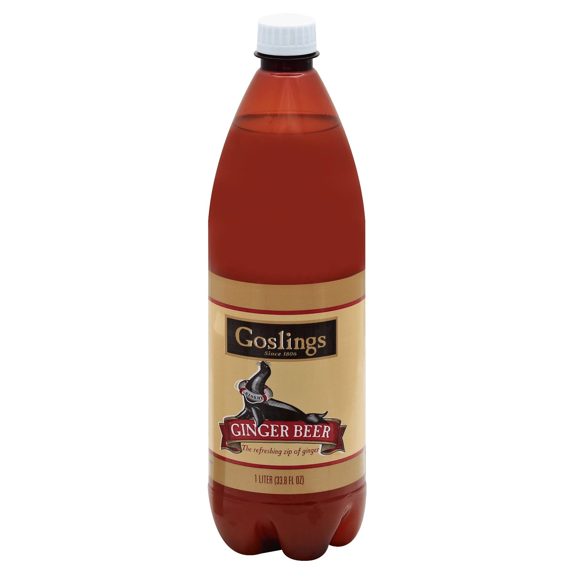 Gosling Ginger Beer - 1 L bottle