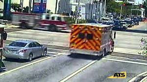 100 Fire Truck Accident Miami Ambulance Collision YouTube