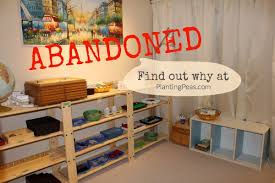 Why We Abandoned Our Montessori School Room After Two Weeks of