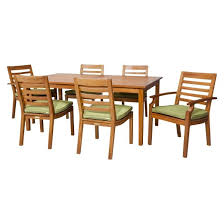 brooks island wood patio furniture collection smith hawken