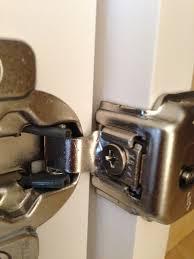 cabinet door stops cabinet hinge restrictor clip are an option