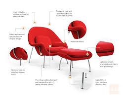 Womb Chair & Ottoman In 2019 | Womb Chair Replica - Stylish Red ... White Ash Eames Lounge Chair Ottoman Hivemoderncom Replica Ivory And Herman Miller Chicicat Collector And Black 100 Leather High Quality Base Prinplfafreesociety Husband Wife Team Combine To Create Onic Lounge Chair The Interiors Chairs