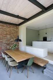 essbereich mit höhensprung als bank anbau esszimmer küche