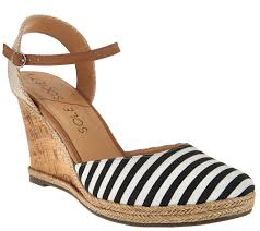 sole society closed toe wedges with ankle strap lucy page 1
