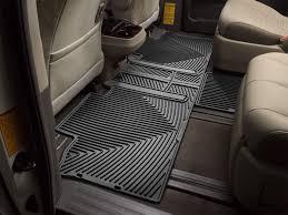 Nissan Armada Floor Mats Rubber by Weathertech All Weather Car Mats For Toyota Sienna 8 Passenger