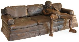 Craftmaster Sofa In Emotion Beige by On The Couch Artist Leslie Stefanson Precious Items U0026 Photos
