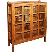 bookcase arts and crafts oak bureau bookcase arts and crafts