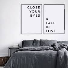 liebe poster schlafzimmer wandkunst wohnzimmer wanddruck verlieben liebe zitat freund geschenk schlafzimmer druckbare kunst für paare