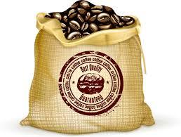 Coffee Bean Bag Free Vector In Adobe Illustrator Ai