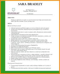 Resume Examples Samples Templates Veterinary Latest Cv Template Doctor Example 5 Environmental Officer Sample