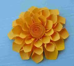 By Step Easy Paper Flowers Fast U Fun Tutorials On Craftsyrhcraftsycom Simple Papercutting Techniques Decorative Crafts