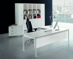 awesome white executive desk