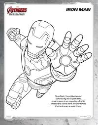 Free Avengers Age Of Ultron Coloring Pages