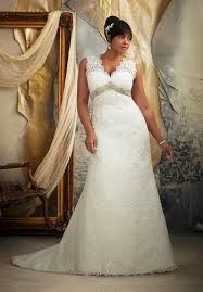 Nice lace gown for a curvy bride Curvy Couture Bridal