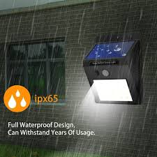 Argos Solar Garden Wall Lights