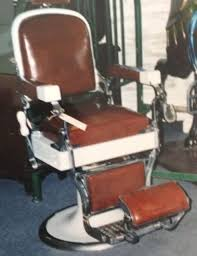 Emil J Paidar Barber Chair Headrest by Barber Chair Collection On Ebay