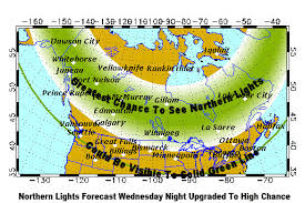 Northern lights chance upgraded to high in Michigan