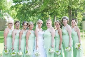 Pistachio Green Grey Summer Wedding