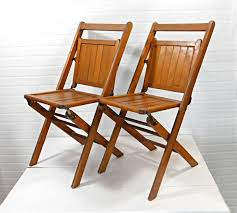 Pair Of Vintage Wooden Folding Chairs, Wood Slatted Folding ... A Line Of Vintage Wooden Folding School Chairs At A Country Amazoncom Home Lifes Vintage Wooden Ding Chair Folding Stakmore Chairs Design Outdoor Decorations Antique Courtroom Or Theatre Attached Garden Bistro Fniture Stools Exciting Pair Wood Slatted Pair B751 Bhaus By Thonet 1930s Card Table Wonderful And Style Royaltyfree Stock Image Brown Stacked In Row Against Foldable Chair On Carousell