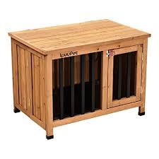 lovupet tragbare faltbare hundehütte hundehaus hundebox aus unbehandeltem holz indoor und outdoor 0651d