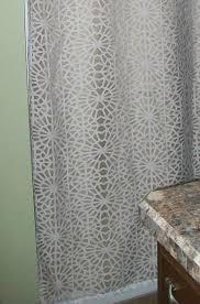 Target Threshold Window Curtains by Geometric Burnout Shower Curtain Tan Threshold Target Target
