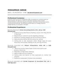 Drafting Resume Examples U2013 Fathunter