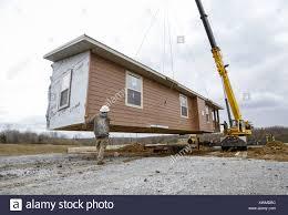 100 Rural Design Homes Davenport Iowa USA 30th Nov 2016 A Crew With