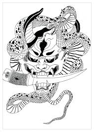 Coloring Page Demon Hidden Picture Pages Christmas Frame Sheet Turn Image Into Free Full Size