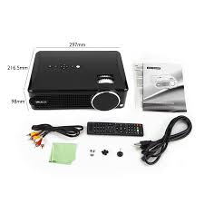 irulu p4 led hd projector home projector support 1080p hdmi