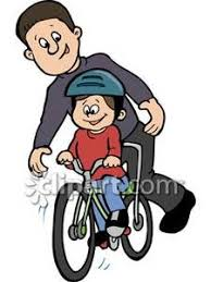 Learning To Ride A Bike Clipart Kid Riding Clip Art Young 6Efrv9