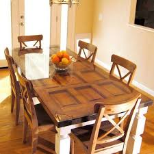 Old Wood Dining Room Table by Unique Vintage Furniture Recycling Wood Doors 30 Modern Ideas