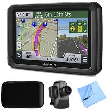100 Truck Navigation Garmin Dezl 570LMT 5 GPS Lifetime MapTraffic Vent