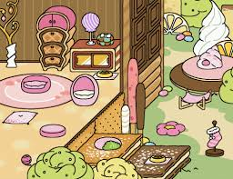 An All Pink Yard In The Sugary Style