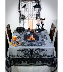 Pumpkin Stencil Maker by Maker U0027s Halloween 60 U0027 U0027x84 U0027 U0027 Lace Tablecloth Black Vintage Bats Joann