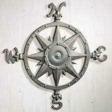Indoor Outdoor Nautical Compass Metal Wall Art | Metal Wall Art ... Outdoor Screen Metal Art Pinterest Screens Screens 193 Best Stuff To Buy Images On Metal Backyard Decor Garden Yard Moosealope Art Backyard Custom And Firepits Wall Ideas Designs L Decorations Studios 93 Crafts Gallery Arteanglements Pool From Desola Glass Wwwdesoglass Recycled Bird Bathbird Feeder Visit Us Facebook At J7i5 Large Sun Decor 322 Statues Sculptures Iron Exactly What I Want In The Whoathats My Style