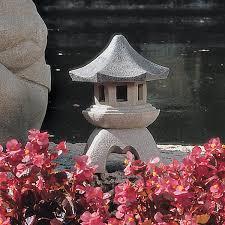 Design Toscano Asian Decor Pagoda Lantern Outdoor Statue Medium