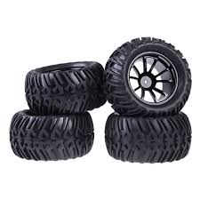 4PCS Wheel Rim & Tires For HSP 1:10 Monster Truck RC Car 12mm Hub ... Traxxas Xmaxx Monster Truck Review Big Squid Rc Car And Living Gorges Valentines Proline Promt 44 Super Tiger Stripes Wild Wheels Blaze The Machines Nitro 18 Scale Radio Control Nokier 35cc 4wd 2 Speed 24g Fisherprice Nickelodeon Stealth Worlds Faest Gets 264 Feet Per Gallon Wired Brushless Electric E9 Pro Lipo 08301 Team Magic E5 Hx 110 Racing Rtr 47692 Free Fisher Price And The Diecast Vehicles Toy Transforming Rentals For Rent Display