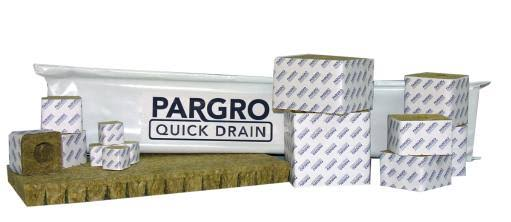 "Pargro Quick Drain Blocks 4"" x 4"" Wrapped Case of 72"