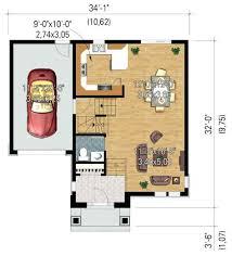 cuisine et maison plan de maison de 50m2 modele plan de maison decomposition