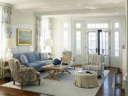 nautical house on the bay htons beach style living room