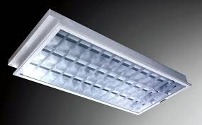 recessed fluorescent light covers for kitchen fluorescent light