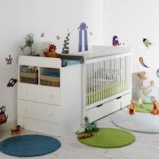 chambre bébé modulable lit evolutif bébé avec tiroir blanc 70x140 jeannette jeanblcm01e